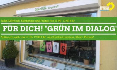 """Grün im Dialog"""