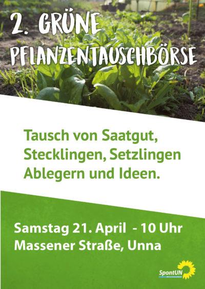 2. Grüne Pflanzentauschbörse @ Massener Straße | Unna | Nordrhein-Westfalen | Deutschland