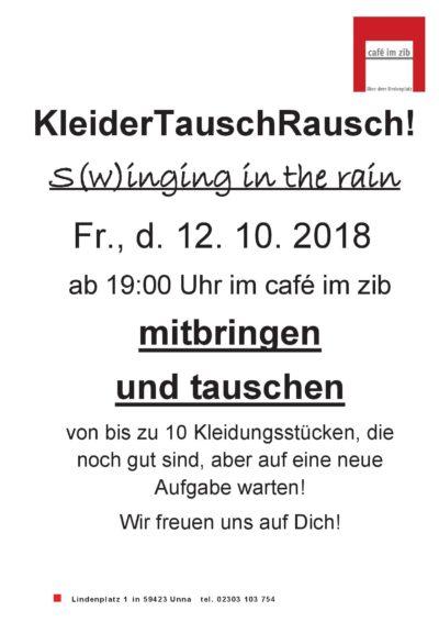 Kleidertauschrausch @ Cafe im ZIB | Unna | Nordrhein-Westfalen | Deutschland